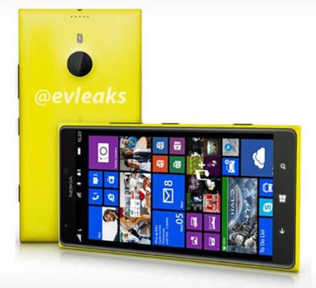 Nokia Lumia 1520 aparece en una primera recreación