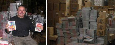 El negocio de la nostalgia: una empresa se dedica a vender viejos cartuchos de Atari