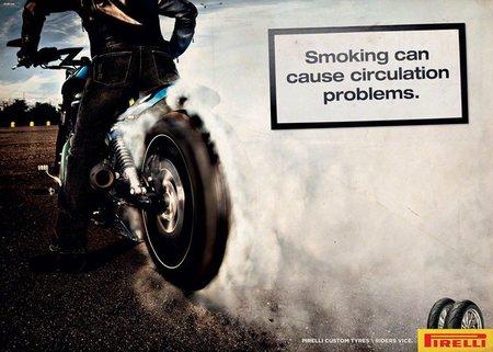 Fumar puede causar problemas de circulación