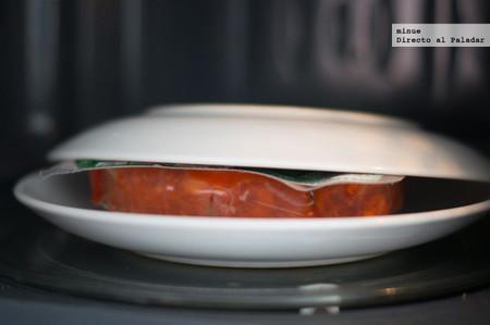 Chorizos a la sidra para microondas - 2