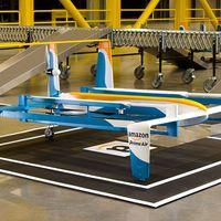 ¡Todos al aire! Amazon quiere tener un gran almacén volador como base de operaciones para sus drones mensajeros