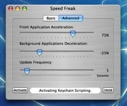 Speed Freak: Más potencia de proceso para la aplicación que estás usando