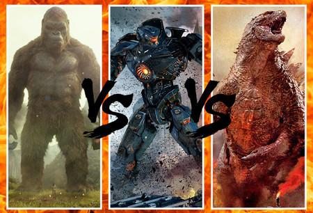 King Kong, Godzilla y los Jaegers de 'Pacific Rim' podrían enfrentarse en un crossover de ensueño