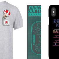 Los fans de Nintendo tienen 3x2 en Zavvi en camisetas, posters y hasta carcasas de móvil