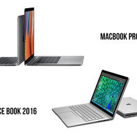 MacBook Pro 2016 vs Surface Book: comparamos sus especificaciones y características