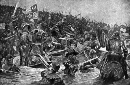 La versión medieval de la Batalla del Somme: la batalla más sangrienta en suelo inglés