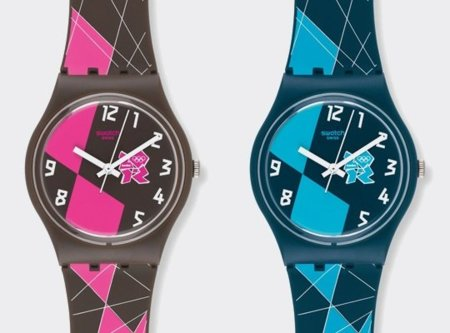 Relojes Swatch Londres 2012