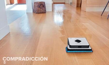 El complemento perfecto para tu Roomba es el robot friegasuelos Braava 390T de iRobot y Amazon te lo deja ahora por sólo 178 euros