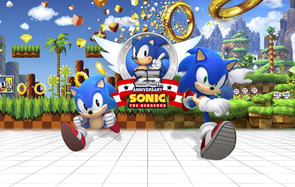 Sonic 25th Anniversary Wallpaper By Nathanlaurindo D9nxpiz Png