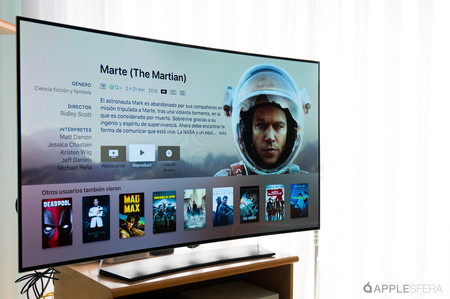 el marciano Apple TV