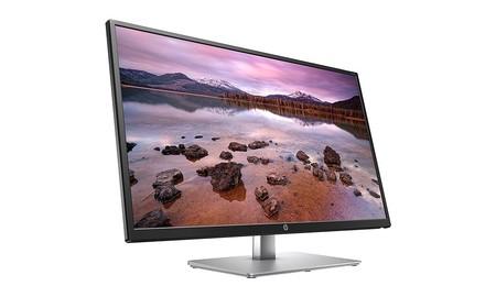 Más barato todavía: el HP 32s, es un gran monitor para trabajar que ahora sólo cuesta 179,99 euros en Amazon