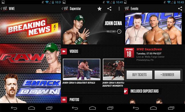 WWE para Android