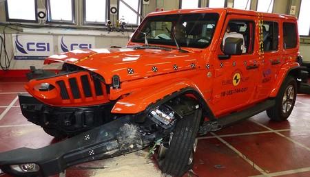 El Jeep Wrangler suspende en seguridad: Euro NCAP saca los colores al todoterreno y le da una sola estrella