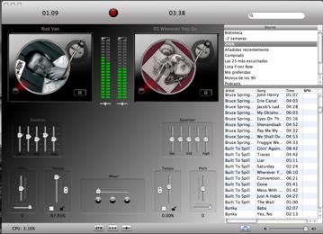 Djay convierte tu Mac en una mesa de mezclas