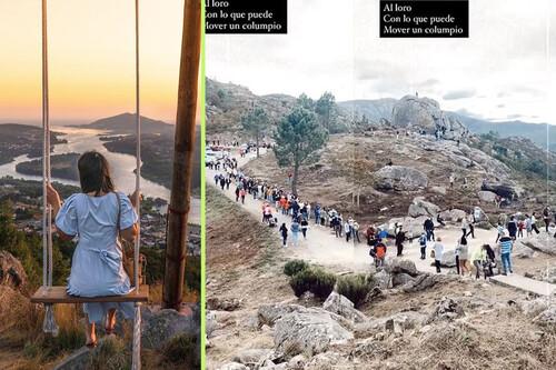 Horas de cola para una foto en Instagram: cómo un columpio cambió totalmente la vida en este pequeño pueblo portugués
