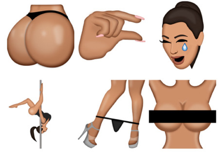 Kimoji Kardashian