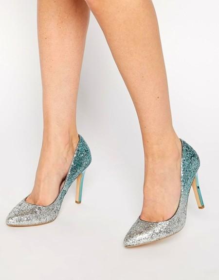 Degrade Glitter Shoes
