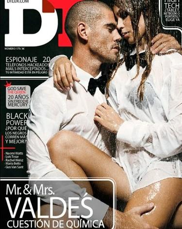 Víctor Valdés y su mujer en DT: opositando para ser los Beckham
