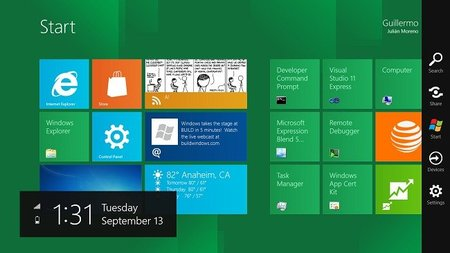 Muchas empresas esperan la llegada de tabletas táctiles con Windows 8
