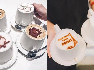 Totoro y Pikachu en el café: bebidas personalizables gracias a la impresión 3D