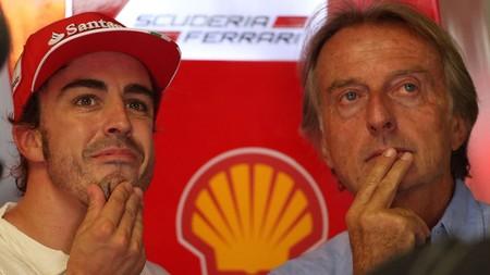 Fernando Alonso carga contra la Fórmula 1 tras las 'críticas' de Montezemolo, su presidente en Ferrari