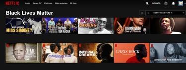 """Netflix lanza la categoría 'Black Lives Matter' para resaltar sus películas, series y más obras sobre la """"experiencia negra"""""""