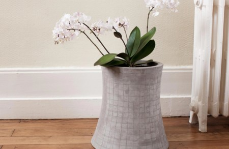 Nuclear Plant Concrete Flower Pot 5 1