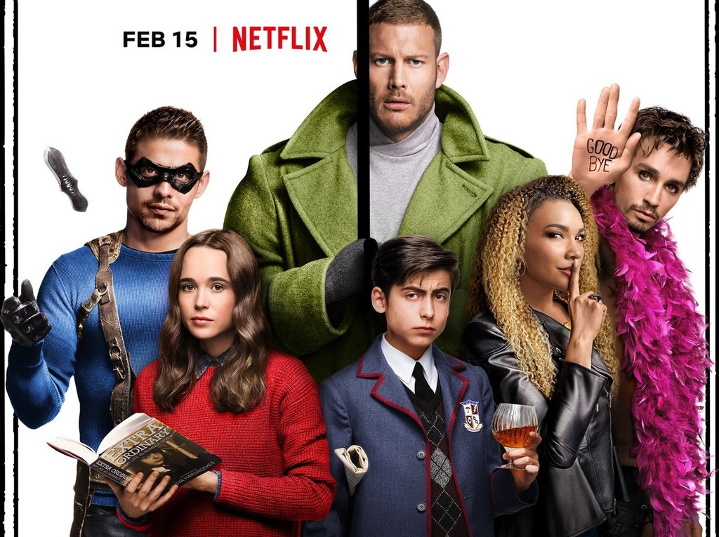 mind-blowing trailer of 'The Umbrella Academy', the series from Netflix based on the comic book about a strange family of superheroes