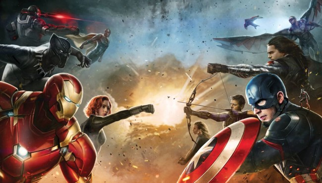Teaser póster de Captain America 3: Civil War
