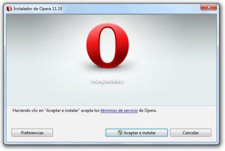 """Lanzada la versión final de Opera 11.10 """"Barracuda"""""""