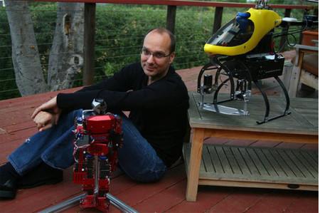 El fundador de Android, Andy Rubin, pasará a construir robots reales dentro de Google