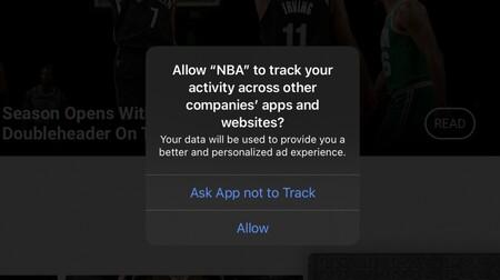aviso de trackeo NBA