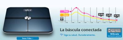 Withings, báscula con Wi-Fi para usuarios de iPhone