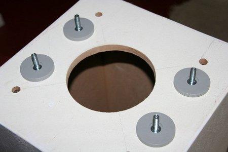 La base de la lámpara de Txaumes