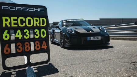 Porsche rompe récord de velocidad