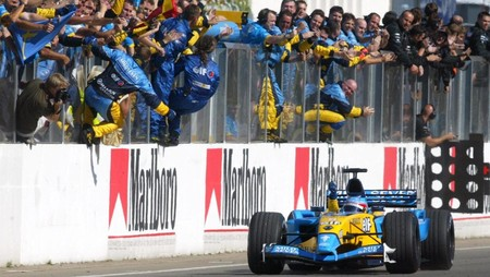 Alonso Hungria F1 2003
