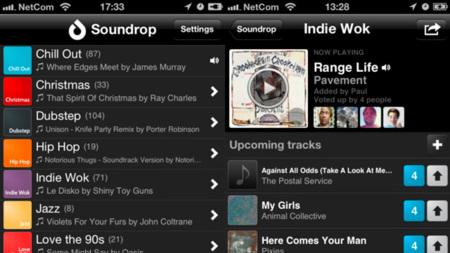 Soundrop lleva sus salones de reproducción en Spotify a iOS