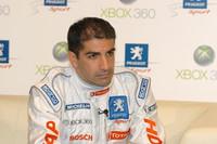 Marc Gené contento en Peugeot