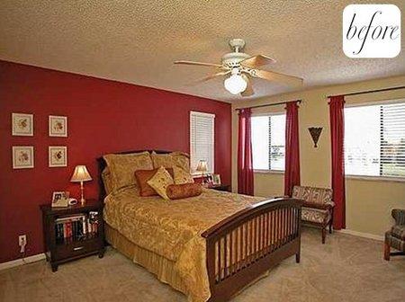 Antes y después: un dormitorio muy relajante