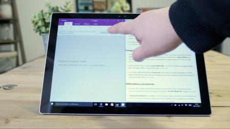 Onenote en Surface Pro 4