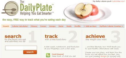 The Daily Plate: aplicación online que ayuda a controlar tu dieta