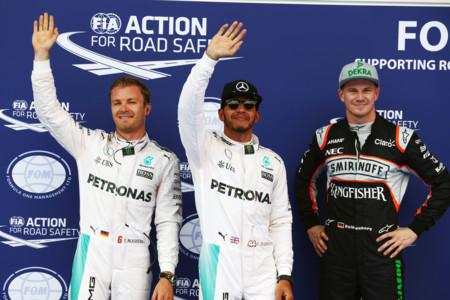 Pole de Lewis Hamilton en la lotería de la clasificación de Gran Premio de Austria de F1