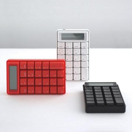 Calculadora y teclado numérico