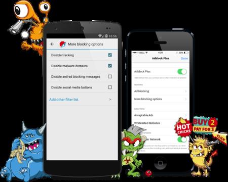 Adblock Browser, un navegador que trae AdBlock Plus a iOS y Android