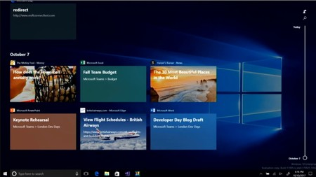 Windows Timeline 3