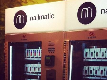 Nailmatic, una máquina expendedora ¡de laca de uñas!