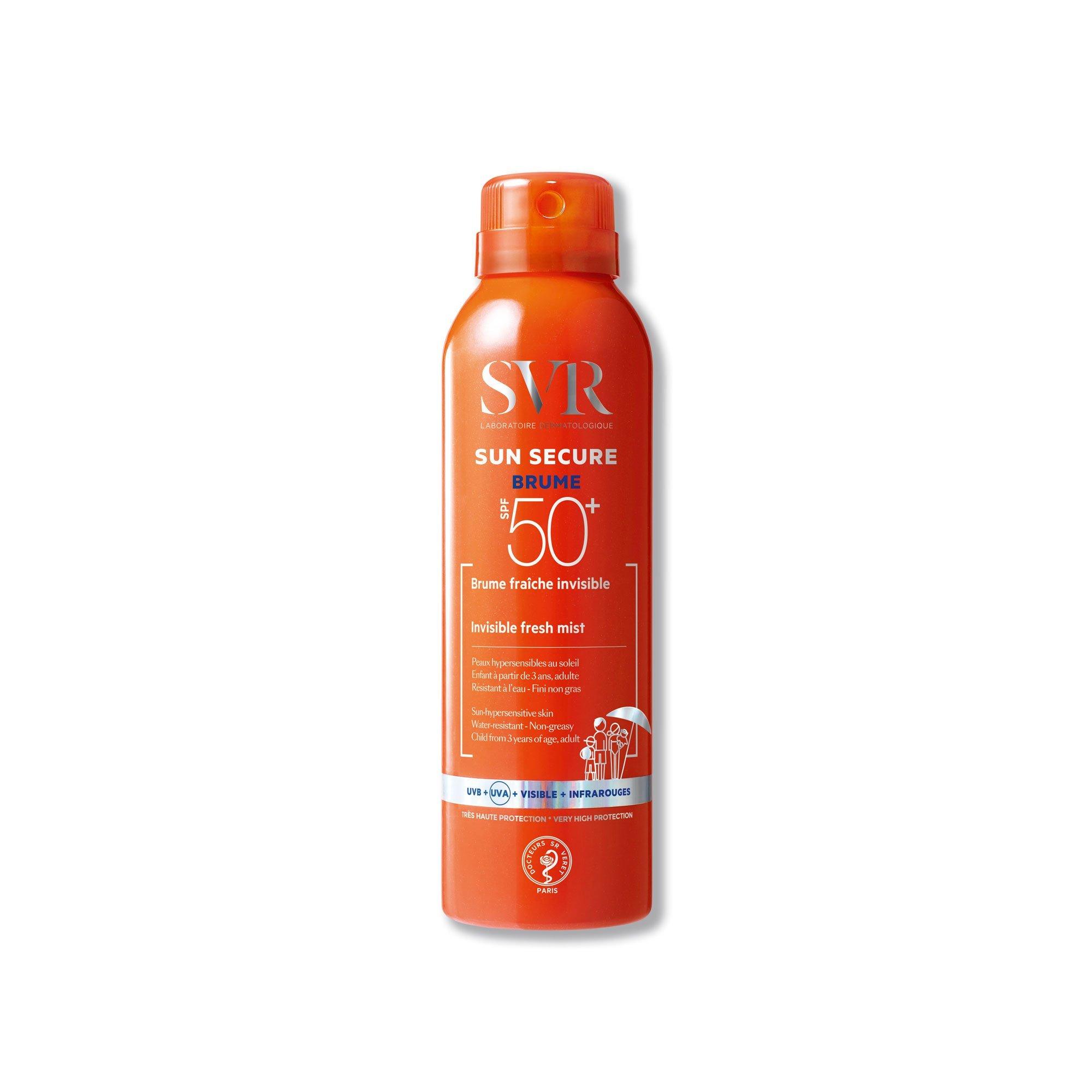 Bruma invisible con SPF50 para pieles sensibles de SVR