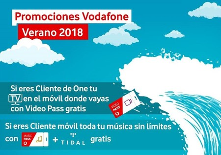 Promociones Vodafone Verano 2018
