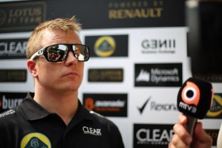 """Kimi Räikkönen: """"para vencer a Sebastian Vettel hay que ganar carreras"""""""