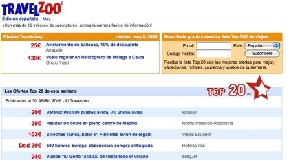 Travelzoo llega a España